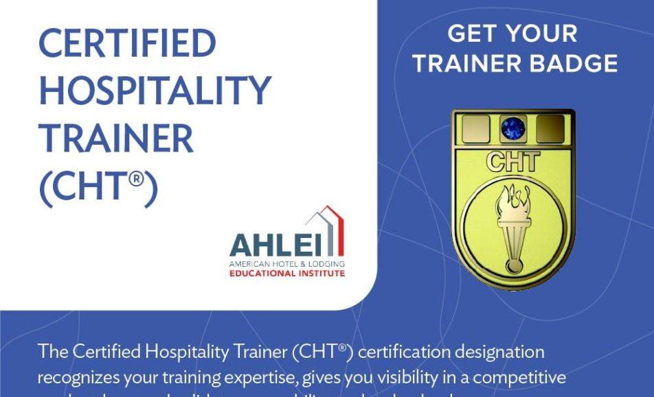 The Certified Hospitality Trainer Cht Workshop Happeningsmv